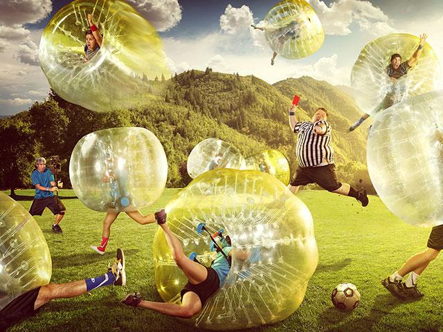 Bubble Football Dječji Rođendani NC Šalata ( Velesajam) slika
