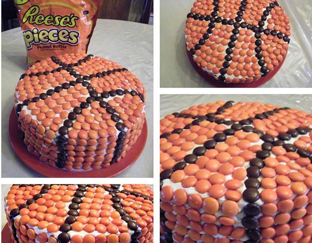 Rođendanska košarkaška torta
