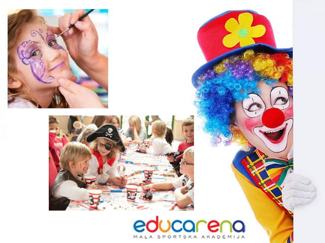 Karneval u veljači = rođendanska proslava u Educareni!