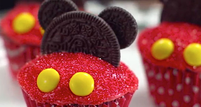 Mickey Mouse muffini