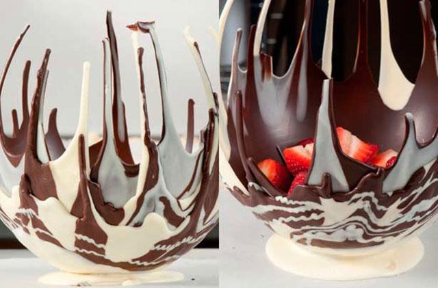 Jestiva čokoladna zdjelica