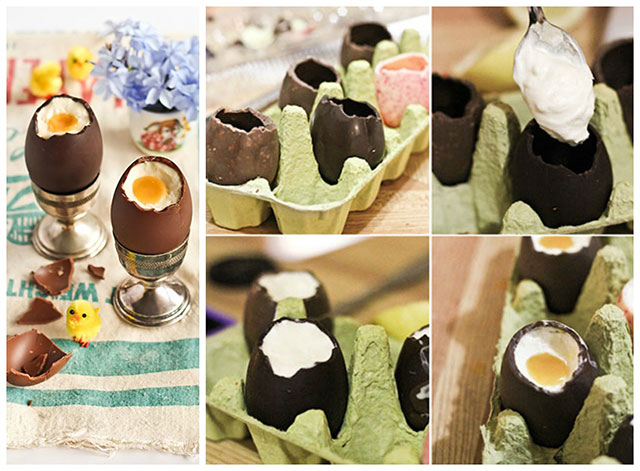 Punjena uskršnja čoko jaja
