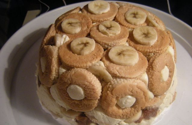 Torta s čajnim kolutićima