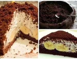 Krtica torta s bananom