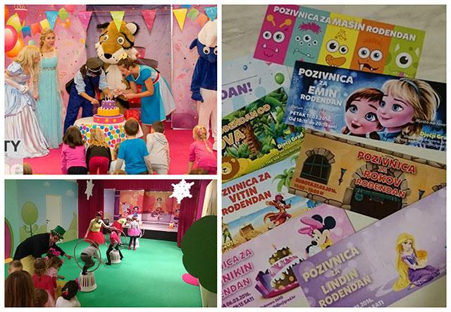 Proslavite rođendan u Dječjem gradu gdje je odlična zabava zagarantirana