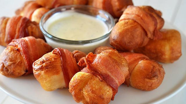 Bombice od sira i slanine