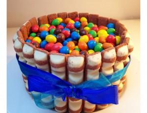 M&M i Kinder bueno torta