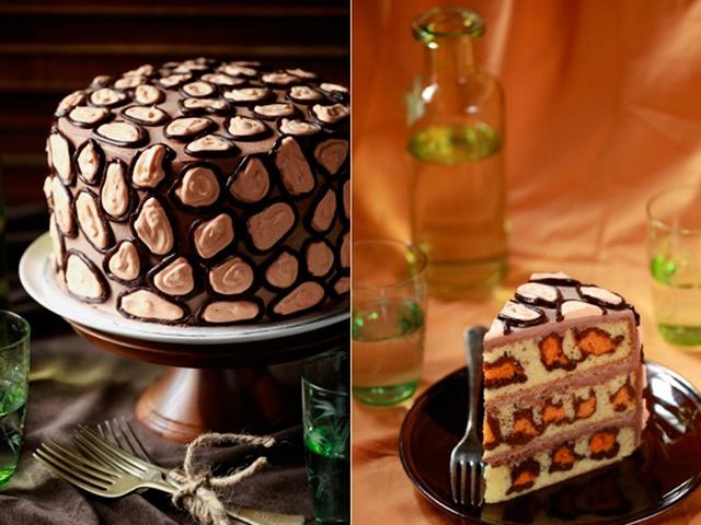 Leopard torta