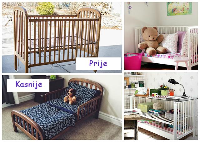 Što s dječjim krevetićem kad ga mališan preraste?