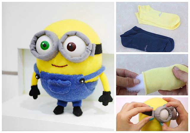 Napravite Minionsa od čarape