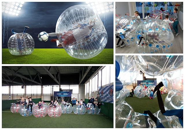 Proslava rođendana koju morate isprobati - Bubble football