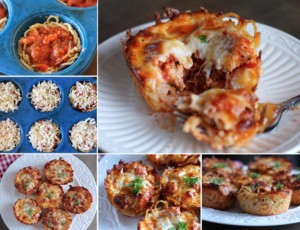 Muffin špageti