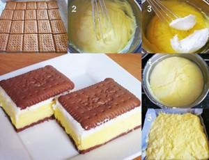 Petit keks kolač
