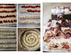 Torta s pitom od višanja