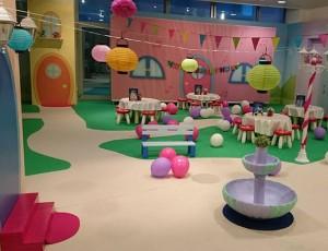 Princeze i prinčevi tematski ročkasi u Dječjem gradu