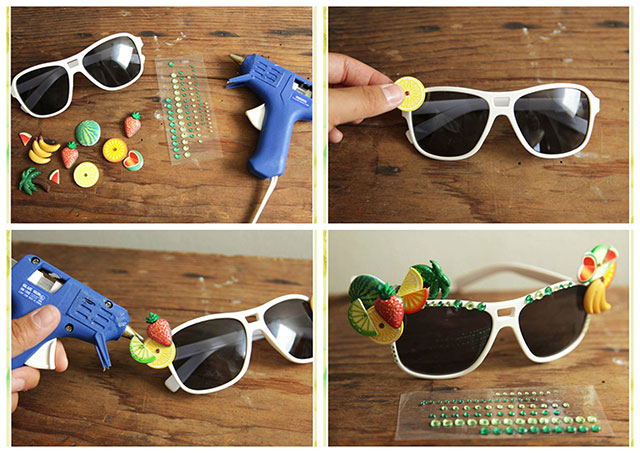 Osvježite strane sunčane naočale zanimljivim detaljima