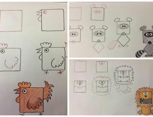 Od kvadrata do zanimljivih crteža u par poteza