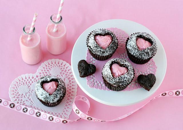 Srčeko muffini