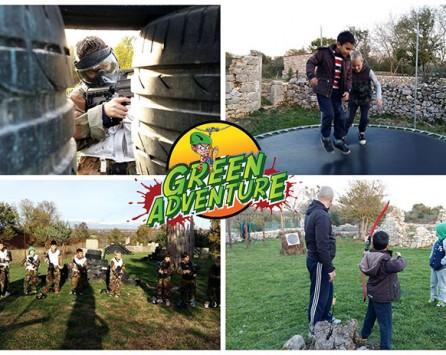 Originalni rođendani u dječjem adrenalinskom parku - Green Adventure