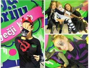 Halloween party u Fiju Briju dječjem klubu