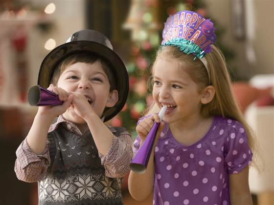 Dječja Nova godina u Dječjem gradu