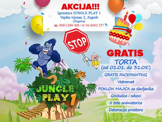 Nezaboravna proslava rođendana u Jungle Play-u