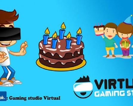 Novo! Proslavite rođendan i doživite čarobno putovanje svemirom - Gaming studio Virtual