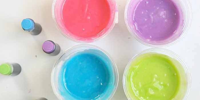 Jestive boje za slikanje prstima