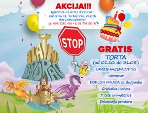 Proslavite rođendan u igraonici Zlatni Dvorac