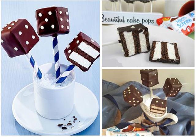 Milch Schnitte cake pops