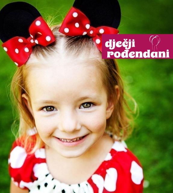 Minnie Mouse špangice za kosu za vaše djevojčice